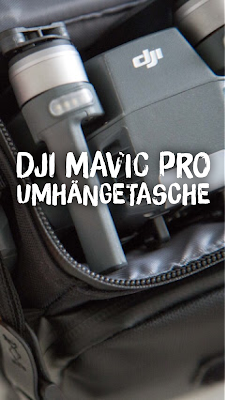 Gear of the Week #GOTW KW 18 | DJI Mavic Pro Umhängetasche | Reisedrohne DJI-Mavic-Pro Case