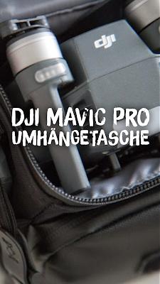 Gear of the Week #GOTW KW 18 | DJI Mavic Pro Umhängetasche | Reisedrohne DJI-Mavic-Pro Case