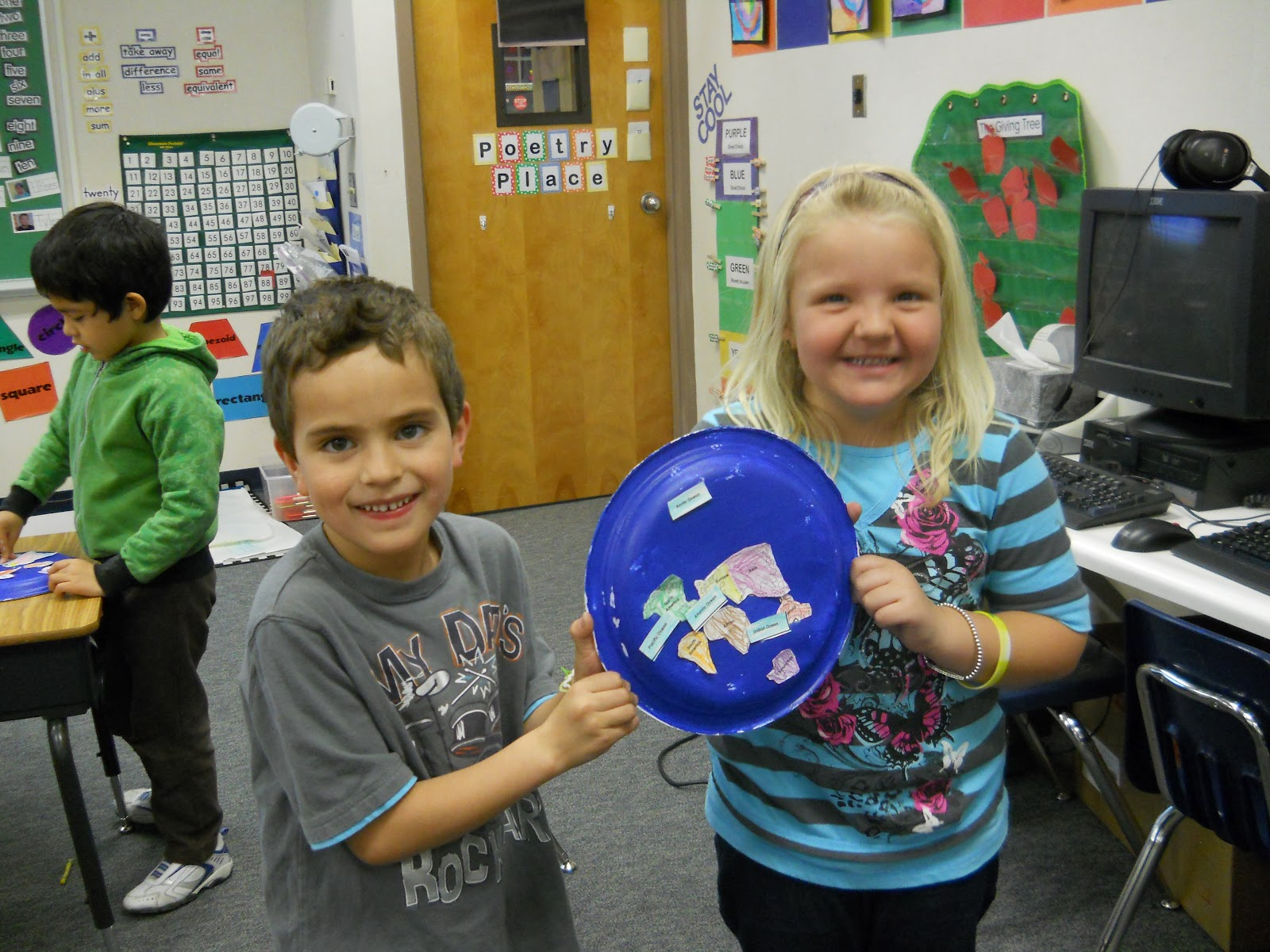Mrs T S First Grade Class The Continents