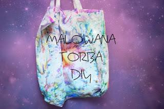Malowana torba DIY