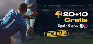 bwin promocion SPAL vs Genova 25-11-2019