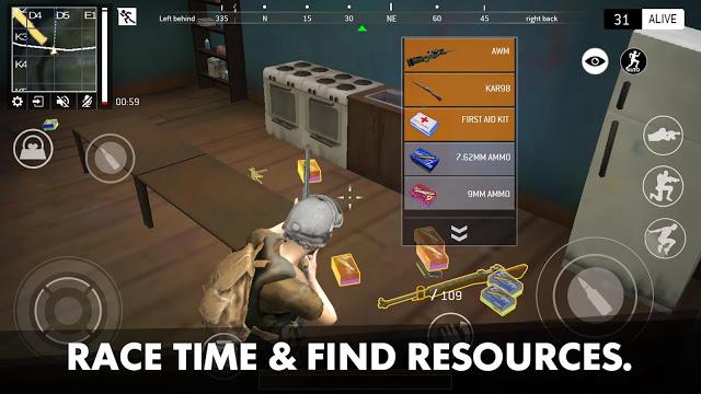 تحميل لعبة Last Battleground Survival Apk كاملة للاندرويد مجانا