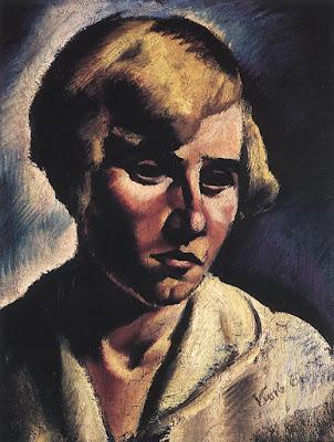 Portrait de Femme, Erzsébet Korb