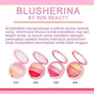 BLUSHERINA BY RZN BEAUTY