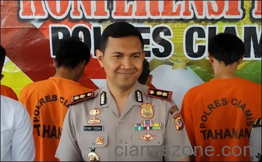 Pelaporan Ridwan Saidi Bisa di Polres Ciamis