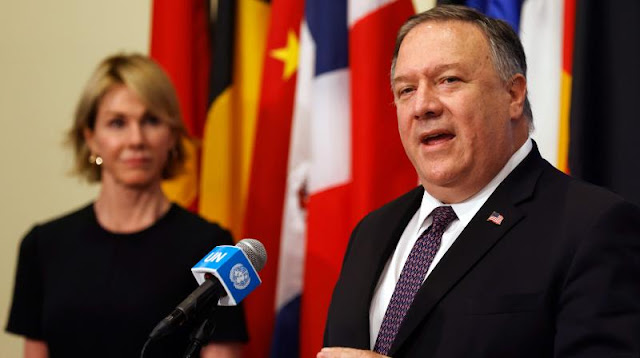 Mike Pompeo says he is sending US Ambassador Kelly Kraft to the United Nations next week to show it to Taiwan