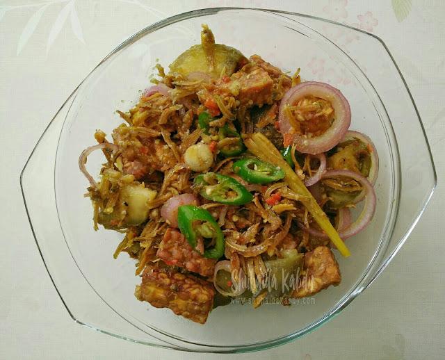 resepi tempe goreng ikan bilis