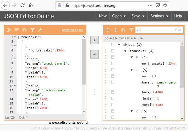 Buku Tips dan Trik Pemrograman Java - Membaca Format Data JSON di Java