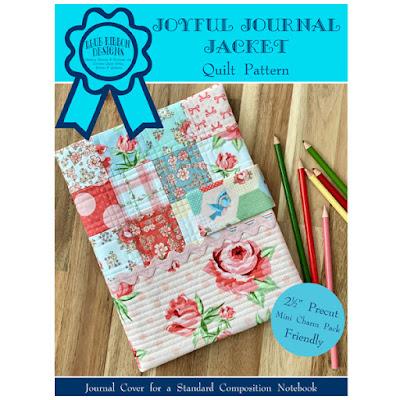 Joyful Journal Jacket ©Copyright 2021 Belinda Karls-Nace/Blue Ribbon Designs, LLC http://www.blueribbondesigns.blogspot.com