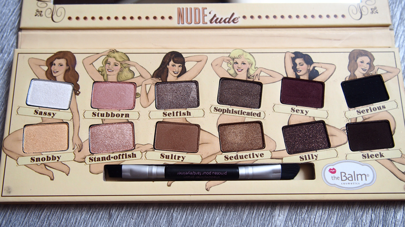 NUDE'tude the balm palette