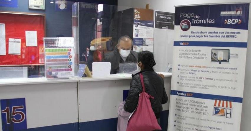 TRÁMITES DNI RENIEC: Inician atención en los distritos de Junín y Concepción - www.reniec.gob.pe