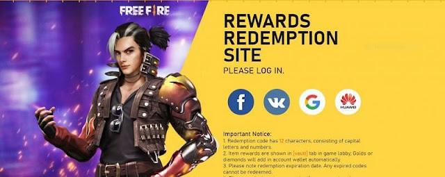 FREE FIRE REWARDS: HOW TO REDEEM GARENA BATTLE ROYALE CODES