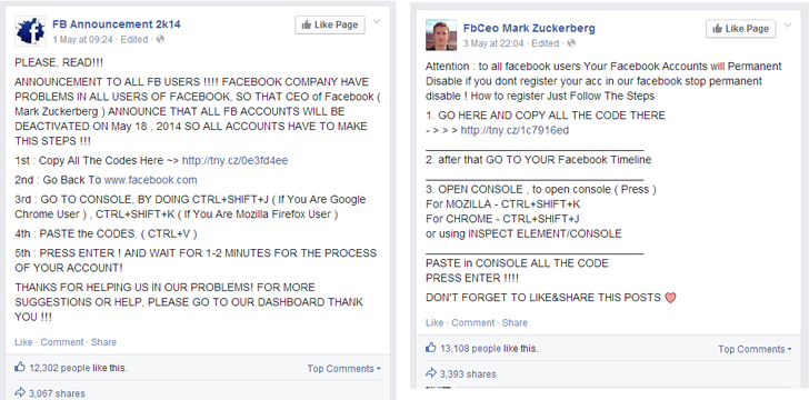 SCAMMYY! Mark Zuckerberg Can Deactivate Your Facebook Account Anytime