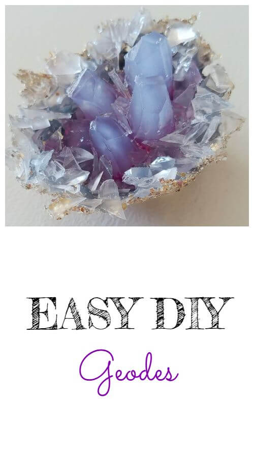 DIY Geodes - Magical March Pinterest Challenge
