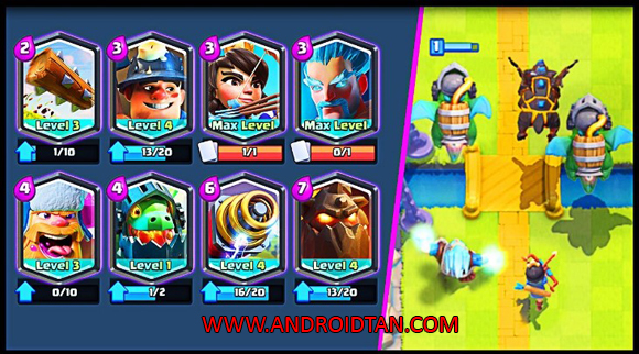 Fitur Game Clash Royale Mod Apk Free Download