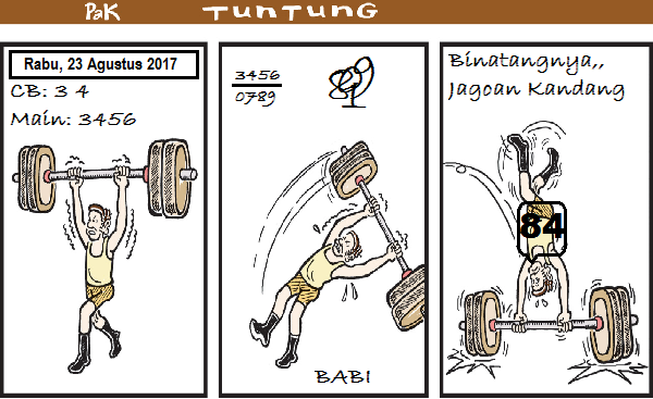 Prediksi Gambar Pak Tuntung Rabu 23 08 2017