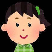 女の子の顔アイコン 7