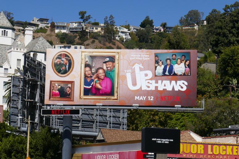 Upshaws series billboard
