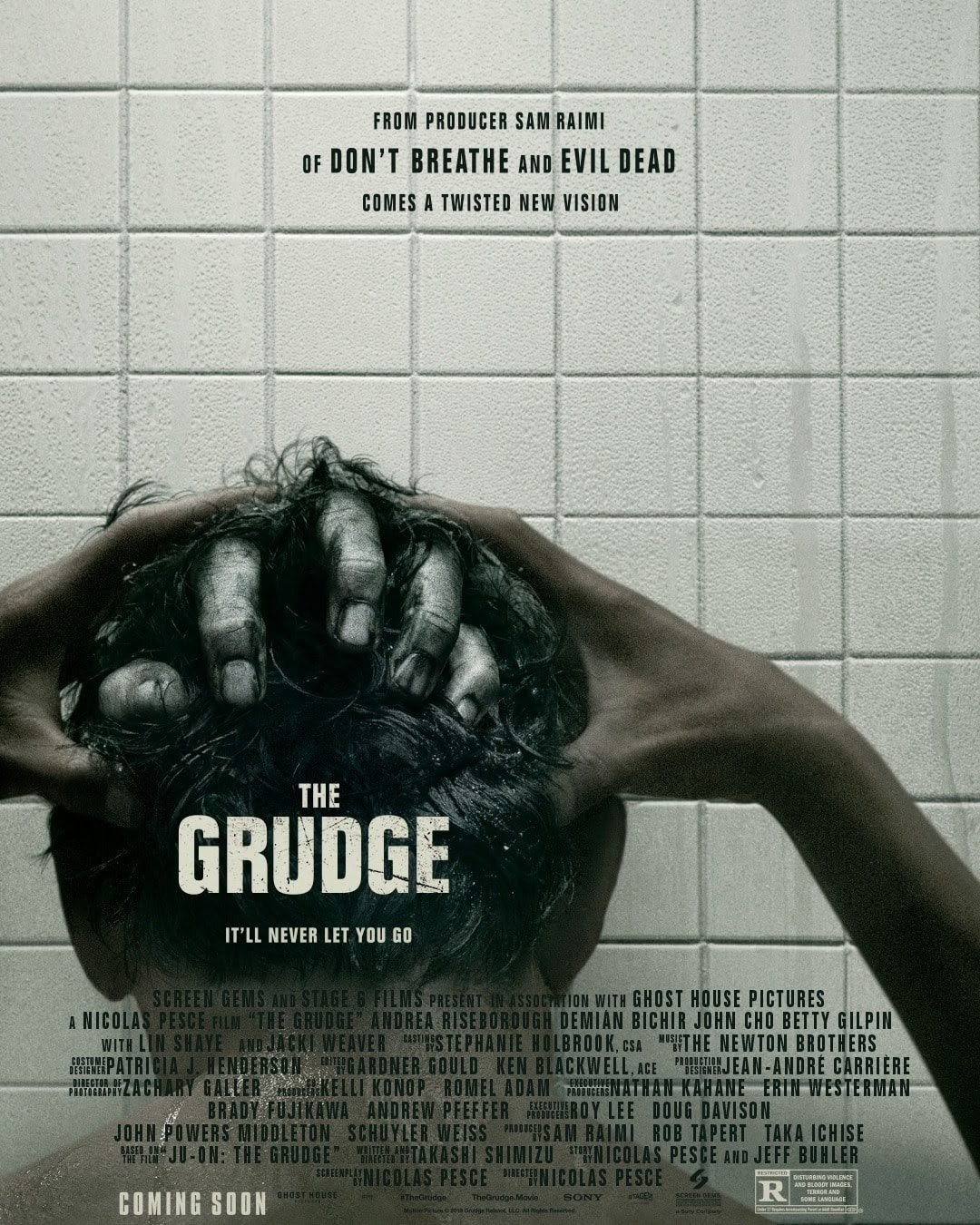 The Grudge : ハリウッド版「呪怨」の最新作「ザ・グラッジ」を製作・配給するソニピが、新しいポスターを披露して、予告編を初公開する予定のリリース日を発表 ! !