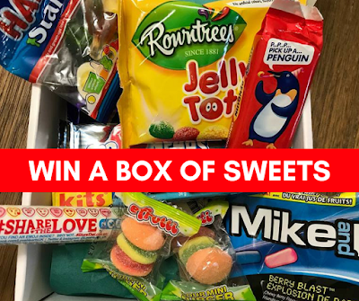 Aaron's Sweet Shop Giveaway - WIN 2 Boxes of Treats