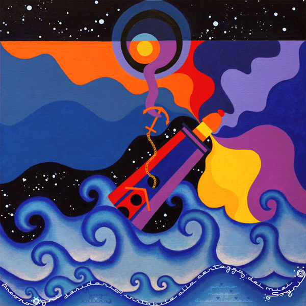 Yago Salina - Àncoro ogni desiderio instabile alla certezza dei miei Sogni...