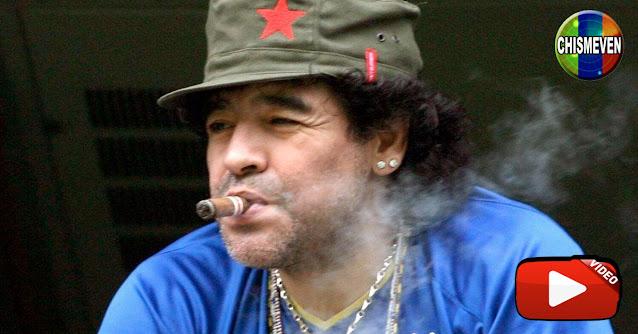 Drogadicto y Tramposo | Maradona se fue a visitar a Chavez o seguirá volando?