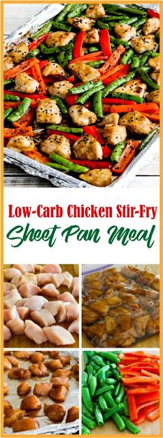 Low-Carb Chicken Stir-Fry Sheet Pan Meal.
