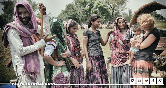 Nómadas ganaderos de la India