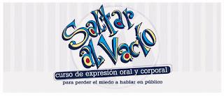 SALTAR AL VACÍO Curso de expresión oral y corporal