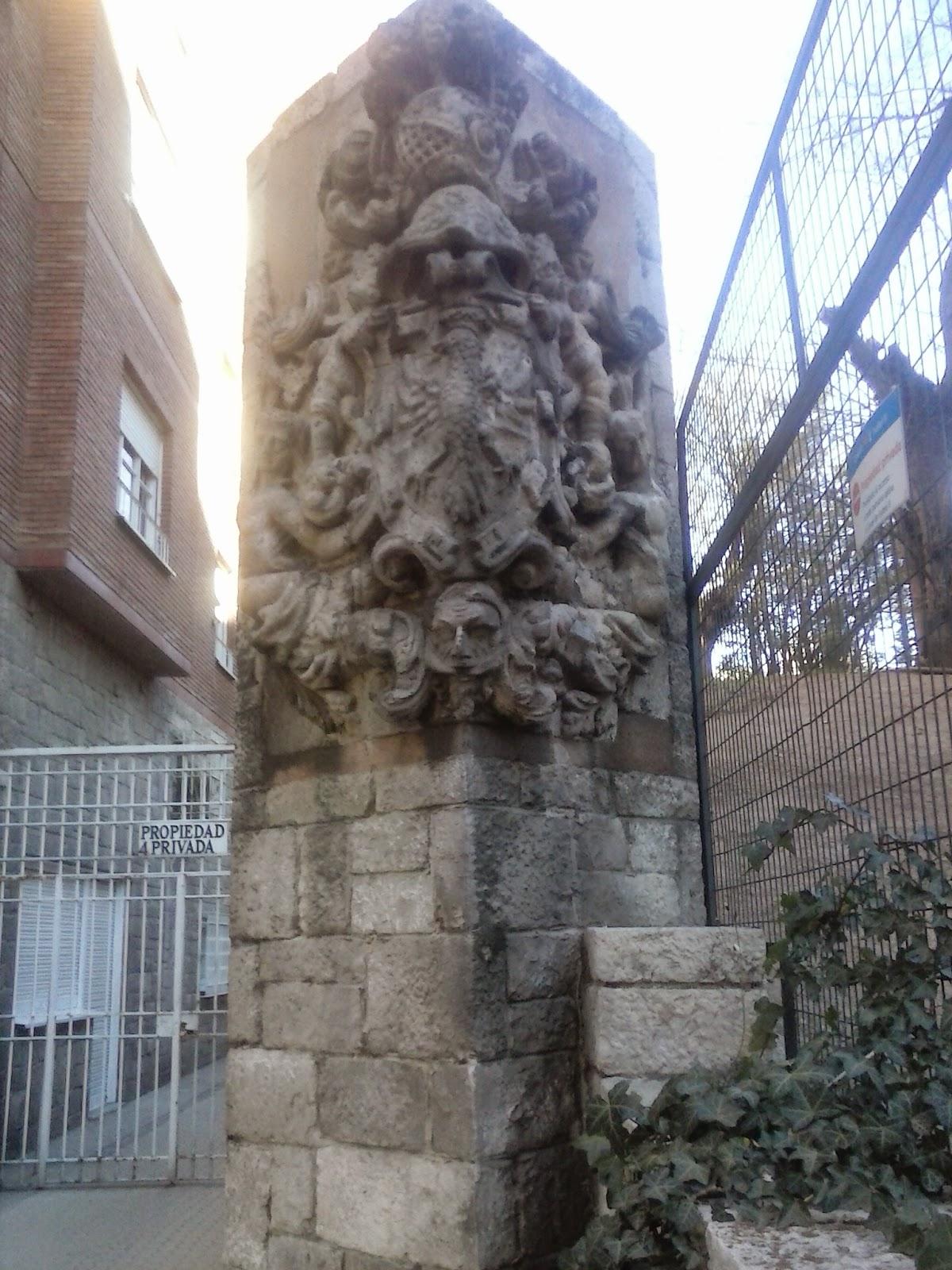 Un Escudo De Origen Desconocido En Cea Bermudez Manuelblas Madrid