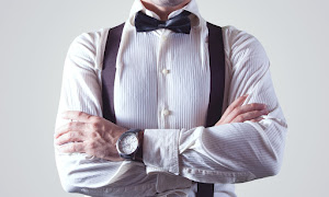 Bow Tie Businessman Fashion Man