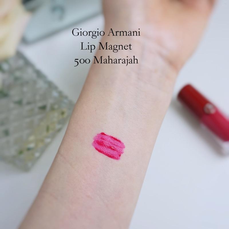 Giorgio Armani Lip Magnet 500 Maharajah swatch