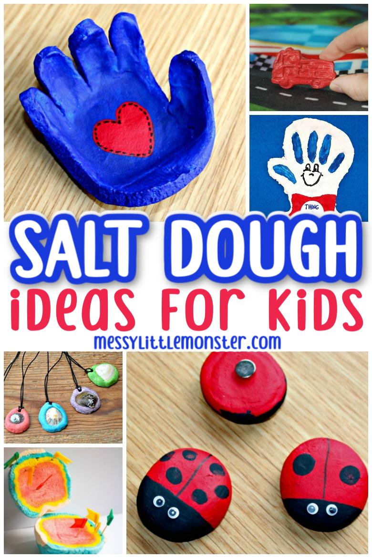 salt dough craft ideas for kids
