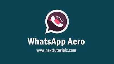 WhatsApp Aero v8.80 Apk Latest Version Anti Banned,instal Aplikasi WA Aero Terbaik 2021,tema whatsapp aero keren terbaru 2021,Download wa mod anti ban