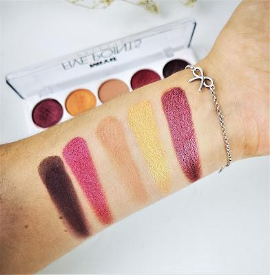 miyo makeup Paleta de sombras número 16
