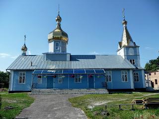 Клевань. Дерев'яна церква святого Миколая