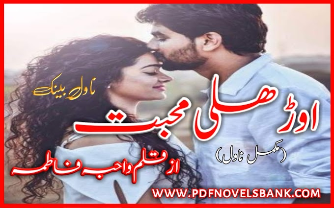 Orhli Mohabbat Novel by Wahiba Fatima Complete Pdf Download