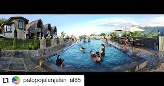 Wisata Kolam Renang Kambo, kambo palopo, wisata alam palopo, wisata