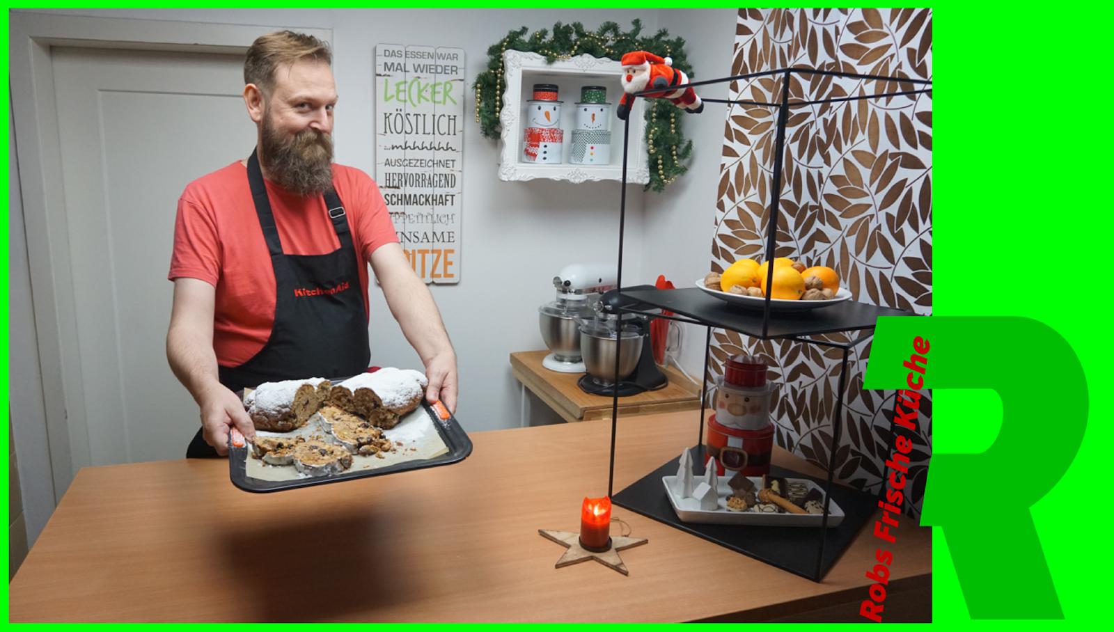 Vollkorn-Christstollen von Robs frische Küche