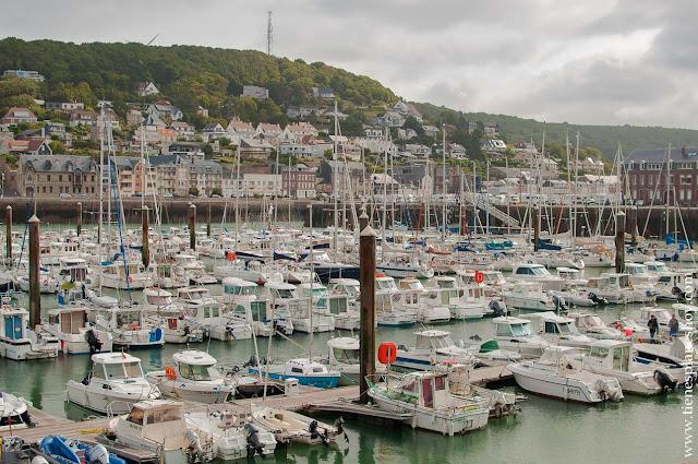 Puerto de Fécamp viaje Normandia turismo que ver