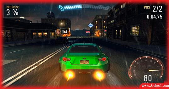اسرع العاب السيارات اندرويد Need for Speed No Limits