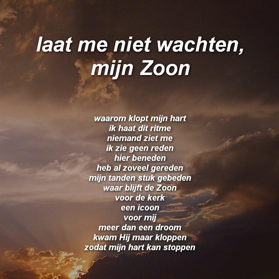 Gedicht Voor Mijn Zoon Xwa17 Agbc