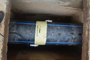 Installation Ultrasonic Flow Meter