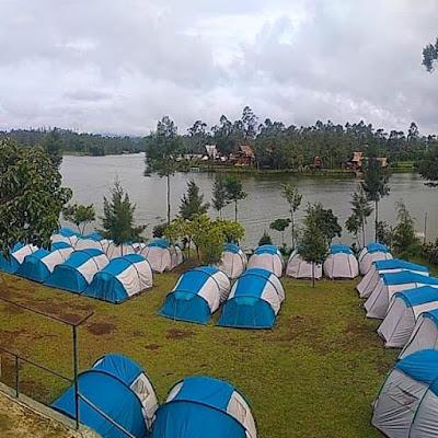 Camping bersama gravity advnture di pangalengan