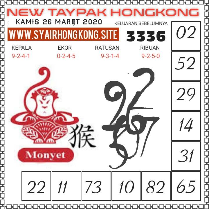 Prediksi HK Malam Ini Kamis 26 Maret 2020 - New Taypak Hongkong