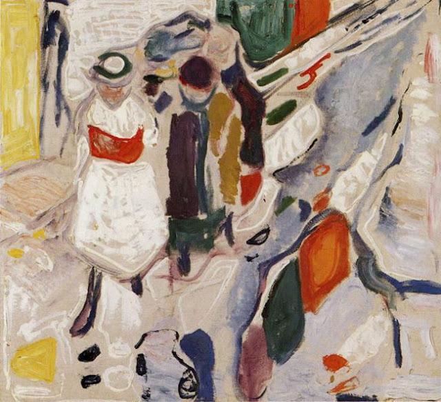 Эдвард Мунк - Дети на улице. 1915