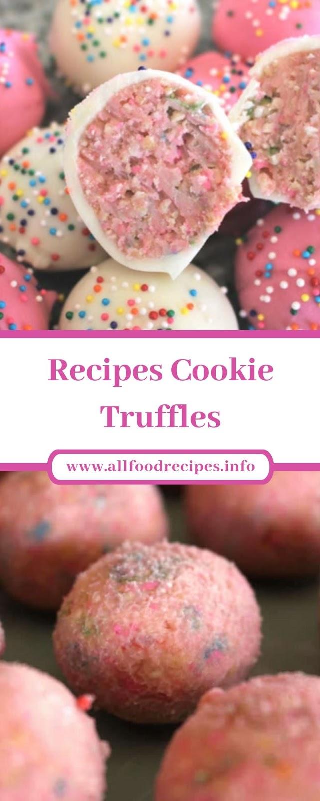 Recipes Cookie Truffles