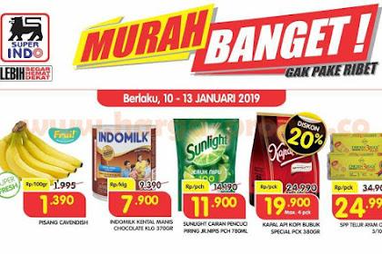 Promo Superindo JSM Weekend 11 - 13 Januari 2019