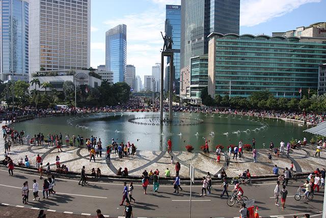Meski Virus Corona Merebak, Car Free Day di Jakarta Tetap Diadakan