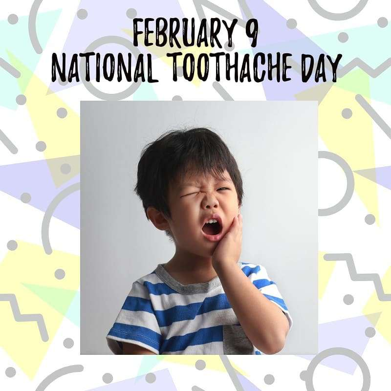 National Toothache Day Wishes Beautiful Image